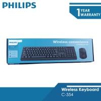 Philips Keyboard Mouse Combo C-354 wireless