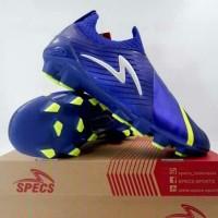 Sepatu Bola Spec Accelerator Slaz Elite FG (Reflex Blue/Safety Yellow)