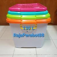 Container box shinpo ezy cb 130 liter - Biru Muda