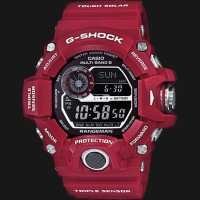 Jam Pria merk G-Shock type GW-9400 Red ori bm Free Box Set