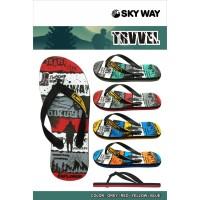 Sandal SkyWay Trvvel - Kuning, 9.5