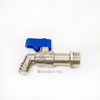Keran Air Cebol 1/2 Inch - Kran Tembok Taman Besi Mini model onda