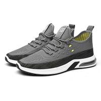 Marelow - Sepatu Sneakers Pria Casual Import - SNK7034 - Grey, 40