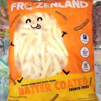 Kentang Goreng Beku Rasa Keju/Batter Coated Frozenland 1kg