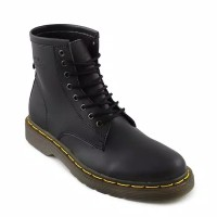 Sepatu boots pria Dr.Martens docmart recomended hitam maroon coklat