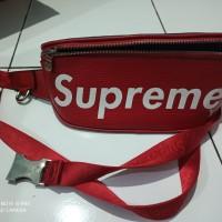 *Preloved* Waist Bag Selempang LV X Supreme Bum Bag Kulit