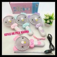 NAGADA MINI HAND FAN / FLASH WARNA / KIPAS GENGGAM / KIPAS LIPAT A11
