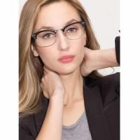 Anti Uv Sunglasses Black-X Pria Dan Wanita - Design Korea - Dps Kode