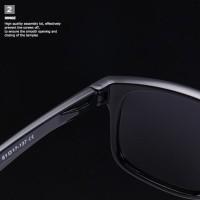 Kacamata Hitam Polarized Sunglassess Anti Uv Unisex Kode 659