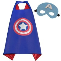 HOT SALE Jubah SuperHero Batman Superman Captain America Anak-anak +