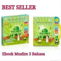 Jual Mainan Ipad E-Book Buku Pintar Anak 3 Bahasa Arab Engli