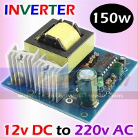 Inverter 150w DC 12v to AC 220v Energy Listrik Solar Cell Power Accu