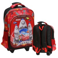 SALE Tas Anak Trolley SD Import Cars Apolo 6D Timbul 2 Kantung Besar