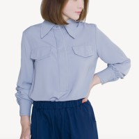 Kakuu Basic - Stitch Point Long Sleeve Shirt