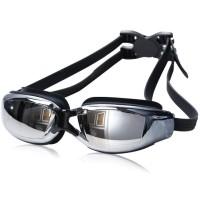 Kacamata Renang Minus 3.0 Anti Fog UV Protection G7800M - Black