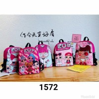 Tas ransel lol surprise 1572 anak import