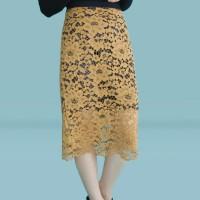 Kakuu Basic - Layered Lace Skirt