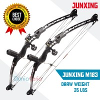 Busur Panah Import junxing Import M131 Hunting Fishing Compound Bow-