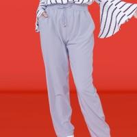 Kakuu Basic - Banding Waist Pull Up Pants