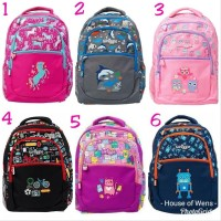 Tas Smiggle Backpack Dejavu