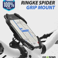 Ringke Spider Grip Mount Bike Holder Phone Sepeda Motor Stroller