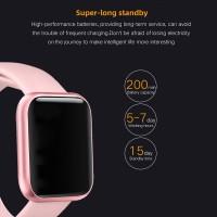 ESEED P80 smart watch women IP68 waterproof full touch screen