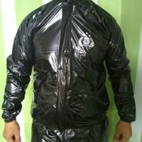sauna polri/ jas hujan silver/ mantel hujan