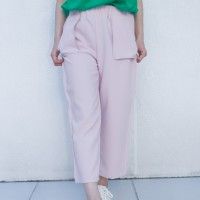 Kakuu Basic - Straight Cut Crop Pants