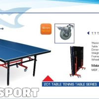Tenis Meja Pingpong Double Fish 201 Original Import Table Tennis