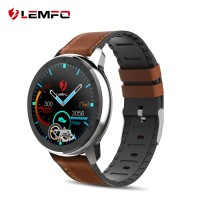 LEMFO ELF2 PPG + ECG Smart Watch 1.3 Inch Full Round Touch Screen