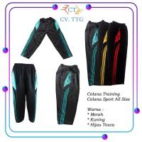 Celana Training Panjang - Celana Sport Unisex Garis Terbaru