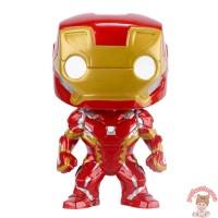 Boneka Pajangan Action Figure Model Iron Man Spiderman untuk Koleksi