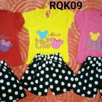 stelan celana minnie mickey baby girl lokal