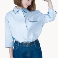Kakuu Basic - Button Up Loose Shirt