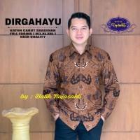 Dirgahayu Kemeja Batik Pria Lengan Panjang By Raja Sakti