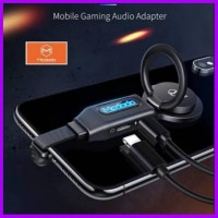 ADAPTER AUDIO LIGHTNING GAMING MC DODO 4 IN 1 WITH RING STAND