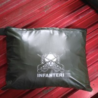 sauna infanteri/ sauna hijau army/ jas hujan/ mantel single