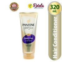 PANTENE CONDITIONER GOLD SERIES STRONG & THICK 320ML