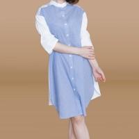 Kakuu Basic - High Neck Midi Dress