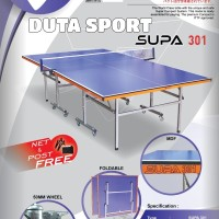 Tenis Meja Pingpong Katana Supa 301 Original Import Table Tennis