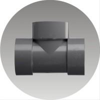 Fitting Sambungan Pipa Air Paralon PVC Tee D Uk. 11 2& 34 Rucika.