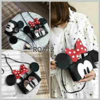 tas minnie mickey anak import