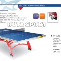 Tenis Meja Pingpong Double Fish 328 Original Import Table Tennis