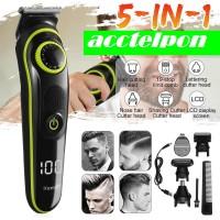 Kemei Alat Cukur Elektrik 5 in 1 Hair Trimmer Shaver - KM-696