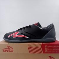 Sepatu Futsal Specs Swervo Galactica Pro IN Black Grey Red 401110 Ori