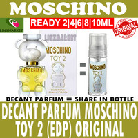 ORIGINAL DECANT PARFUM MOSCHINO TOY 2 (EDP) SIZE 2ML 4ML 6ML 8ML 10ML