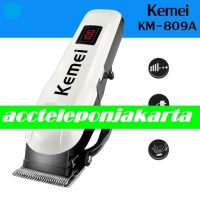 Hair Clipper Kemei KM-809A Alat Mesin Cukur Rambut