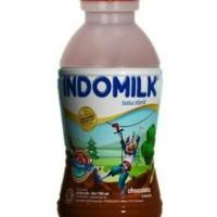 Indomilk Botol Coklat 190 ml