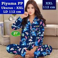 Piyama PP XXL - Katun Jepang / Baju Tidur Murah Karakter Aloha Stitch