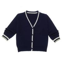 Saneoo Knit Baby Sweater - 12-36 Bulan, Navy